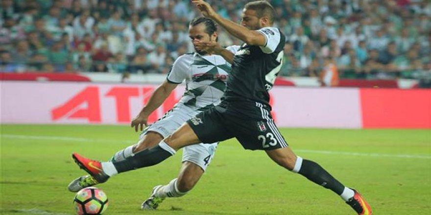 Konyaspor evinde Beşiktaş'ı ağırladı