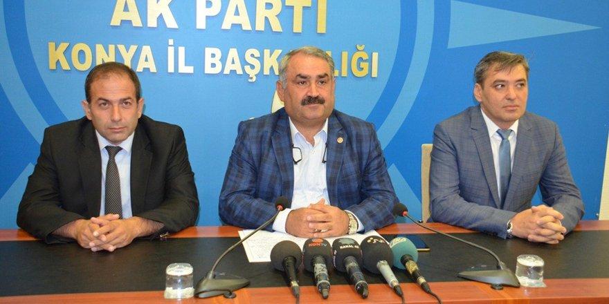 AK Parti'li Etyemez'den gündem değerlendirmesi