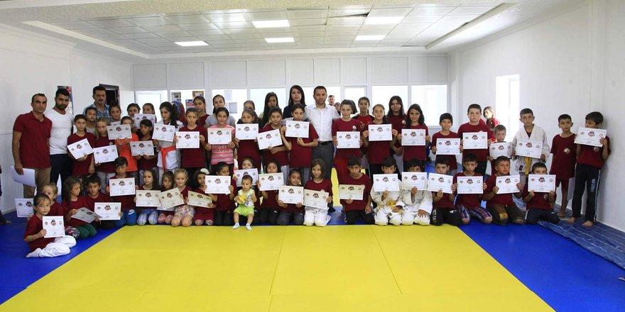 Yaz Spor Okulları tamamlandı
