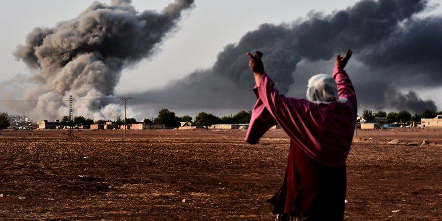 ABD Esed güçlerini vurdu: 62 ölü