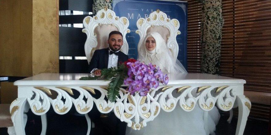 Sümeyye ve Hasan Ali mutluluğa 'evet' dedi