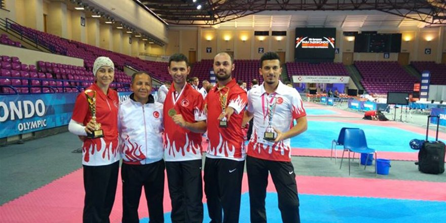 Konyalı sporcular şampiyonadan madalya ile döndü
