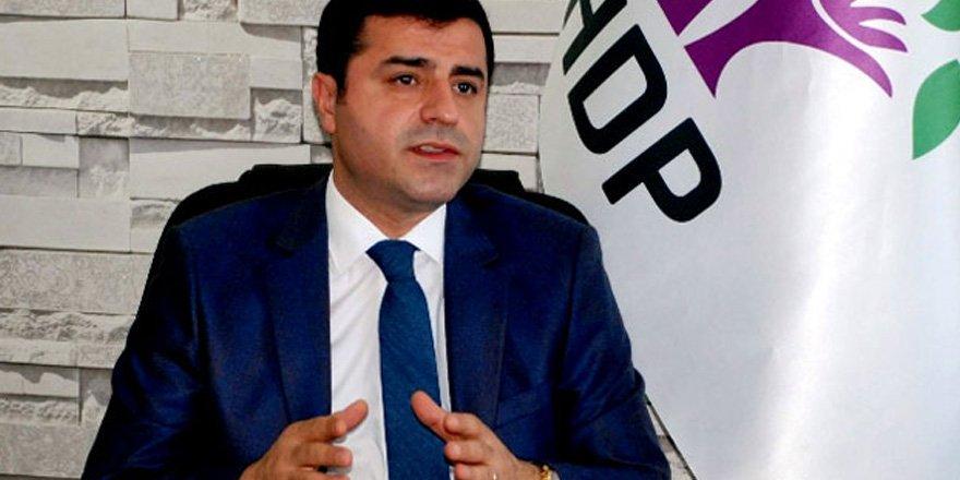 Demirtaş: PKK da hükümet de silahları sustursun