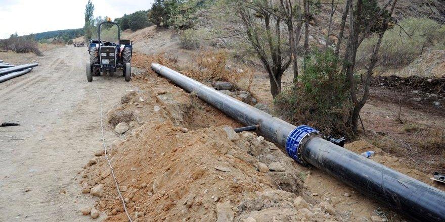 Doğanhisar'ın 6 mahallesine 8 milyonluk sulama yatırımı