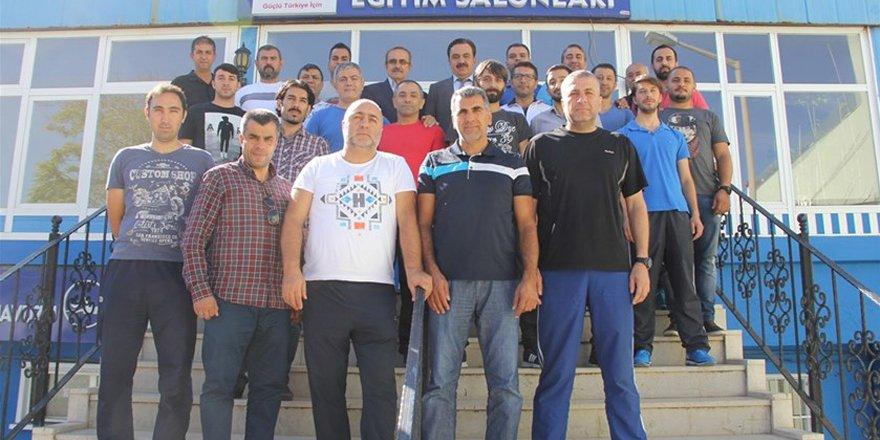 3. kademe antrenör kursu için Konya'da