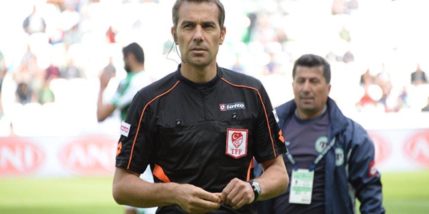 Trabzon maçında düdük Çınar'da