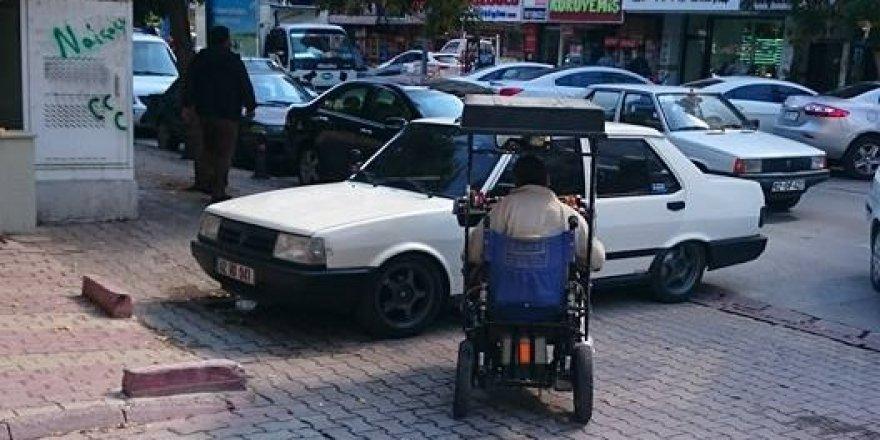 Engelliye bir engel de 'Şahinci'den