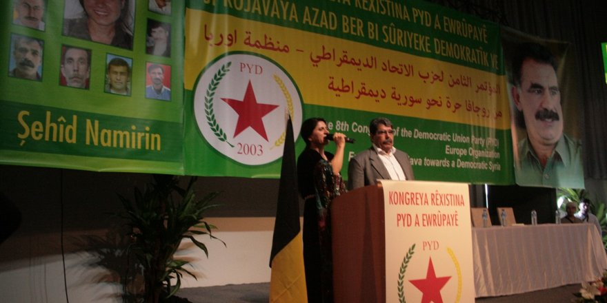 Belçika'da PYD kongre düzenledi