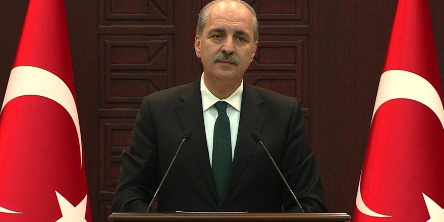 """Kurtulmuş'dan """"Gülen'le görüşen AKP'liler"""" yorumu"""