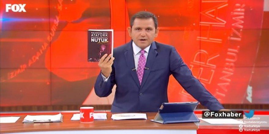 Fatih Portakal her akşam izleyicilerine Nutuk'u anlatıyor