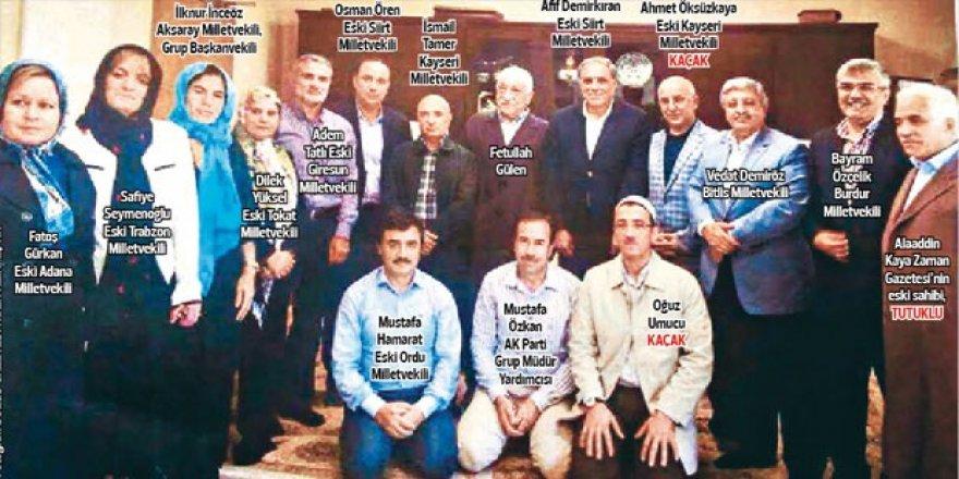Gülen ile fotoğraf çektiren AK Partili vekiller ilk kez konuştu!