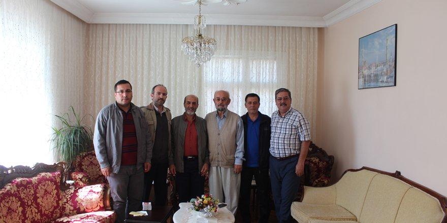 Merhaba Gazetesi'nden Bülbül'e taziye ziyareti