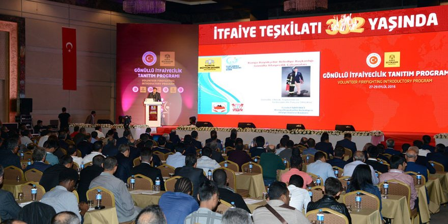Konya'da Gönüllü İtfaiyecilik Tanıtım Programı yapıldı