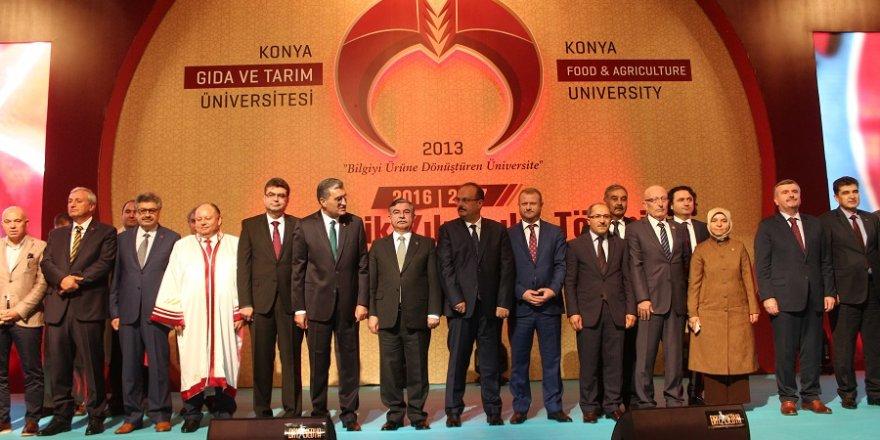 'Gıda ve Tarım Üniversitesi başarılı bir konumda'