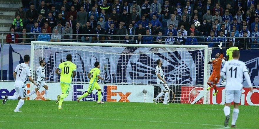 Konyaspor Gent'ten eli boş döndü
