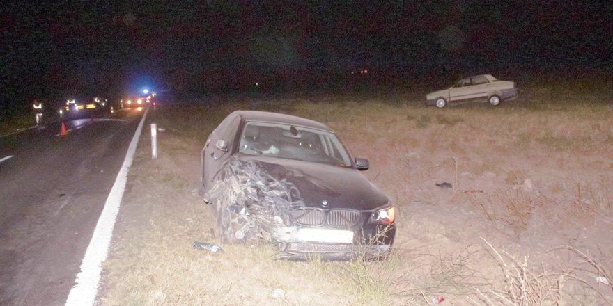 Yunak'ta trafik kazası: 1 ölü, 1 yaralı