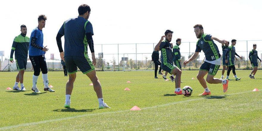 Konyaspor'da Adanaspor maçı hazırlıkları