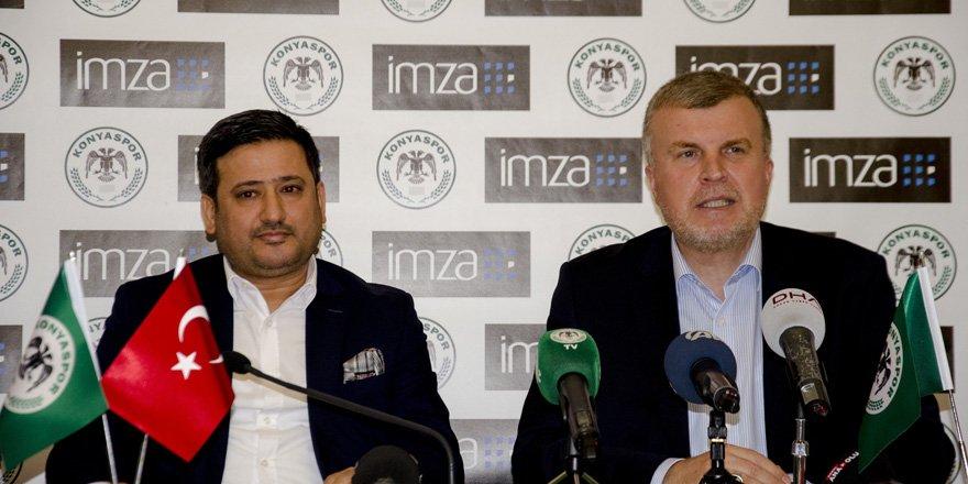 İmza, Konyaspor'un giyim sponsoru oldu