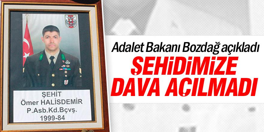 Şehit Halisdemir'in ailesine dava açıldığı iddiası