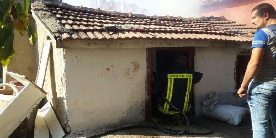Kulu'da yangın