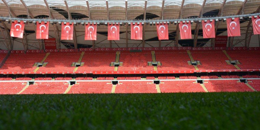 Stad milli maça hazır