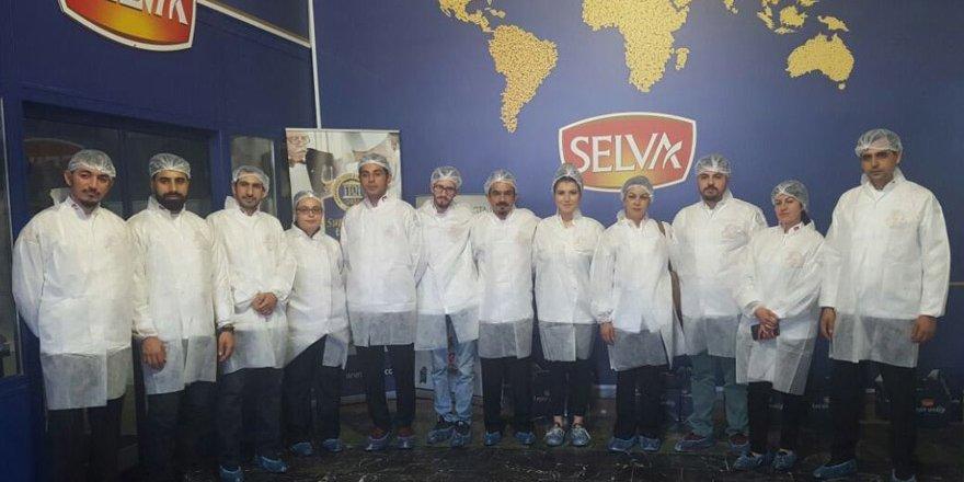 Aşçılar ve pastacılar Selva'yı ziyaret etti