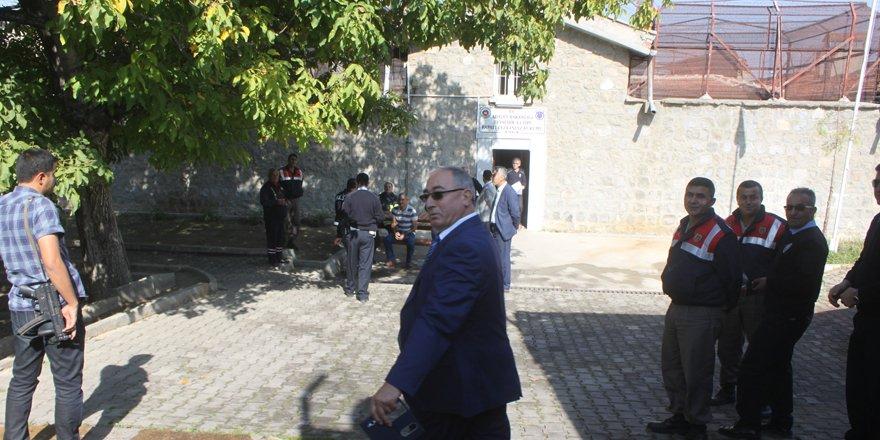 Beyşehir cezaevinde tatbikatı