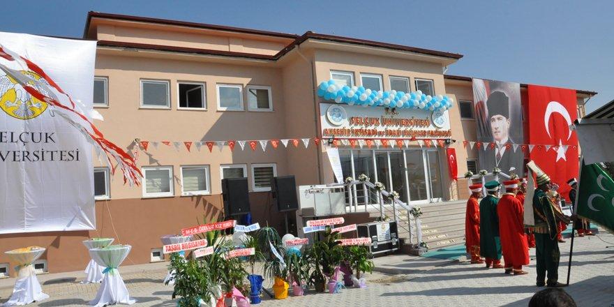 Akşehir İİBF binası törenle açıldı