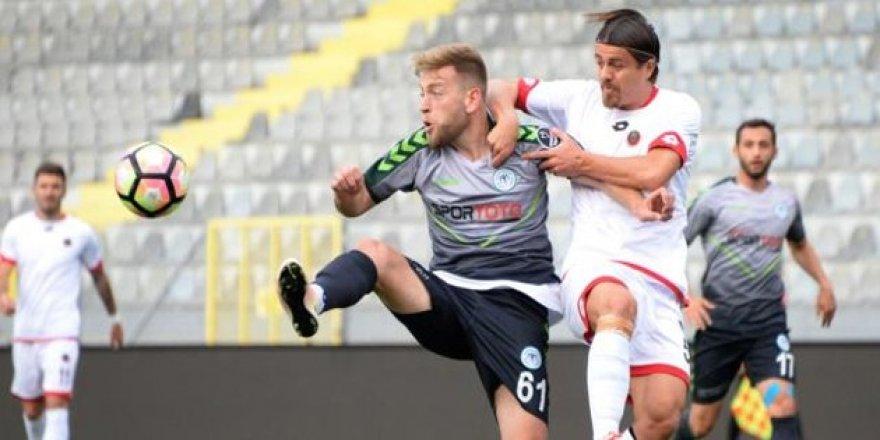 Konyaspor hazırlık maçında kazandı
