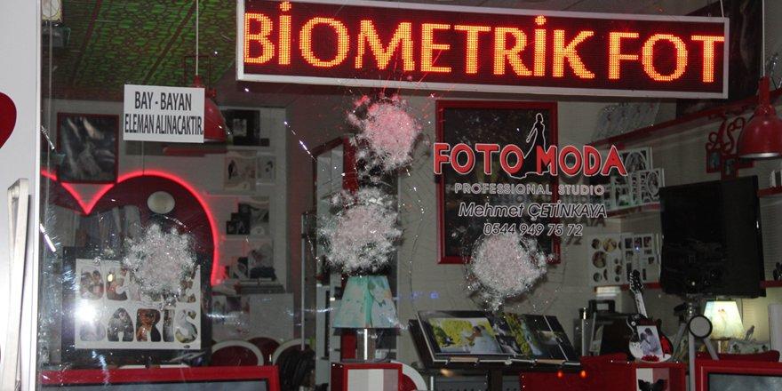 Seydişehir'de iş yerine silahlı saldırı