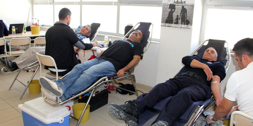 Seydişehir ceza infaz kurumunda kan bağışı