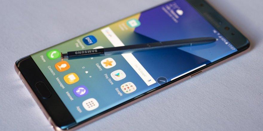 Samsung Galaxy Note 7 üretimi durdu