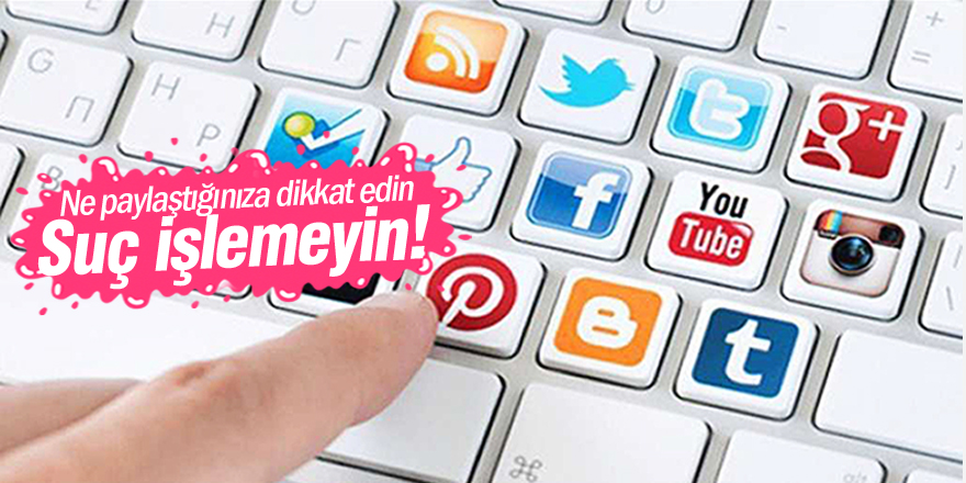 Sosyal medya suçları arttı