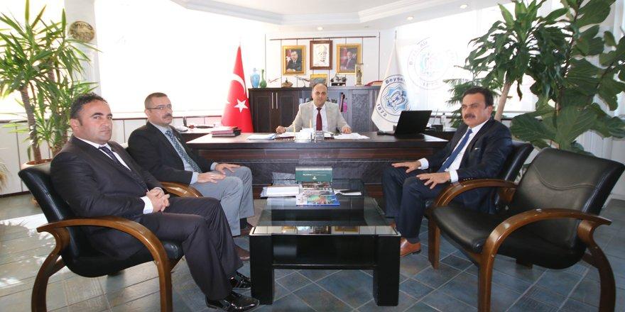Ersöz'den, Başkan Özaltun'a ziyaret