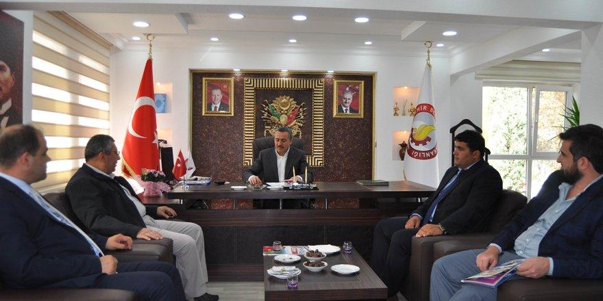 Daire Başkanı Çetiner'den Başkan Tutal'a ziyaret