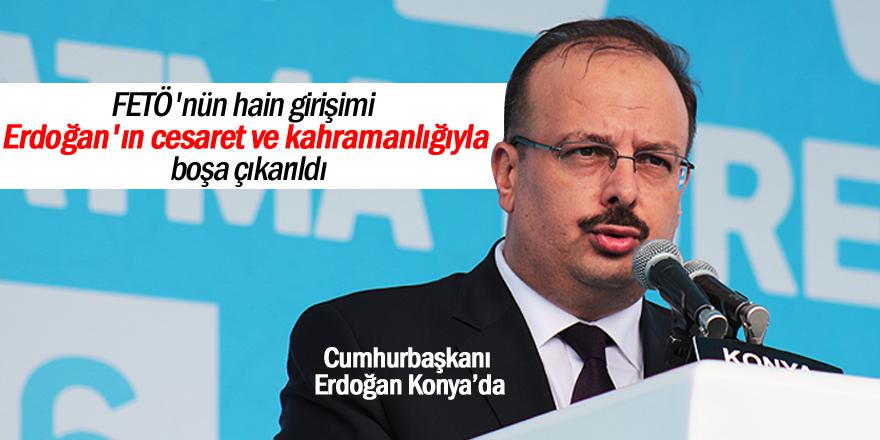 Konya Valisi Canbolat konuştu
