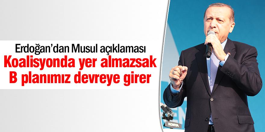 Erdoğan'dan Musul açıklaması