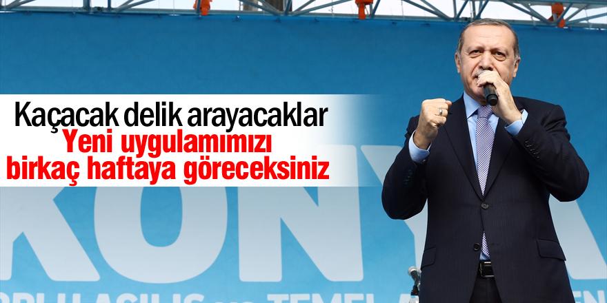 Erdoğan: Kaçacak delik arayacaklar
