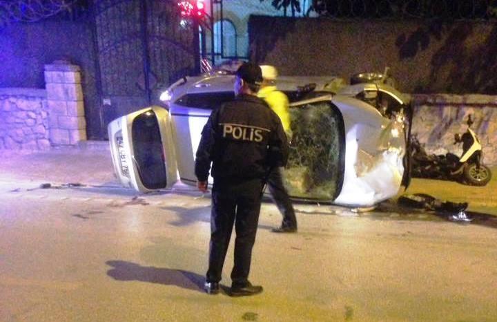 Beyşehir Caddesi'nde feci kaza: 1 ölü 5 yaralı