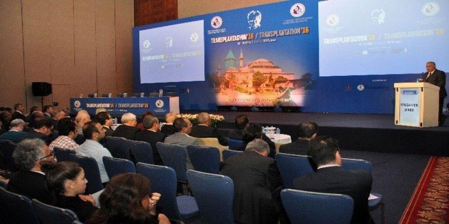 Konya'daki Transplantasyon 2016 Kongresi sona erdi