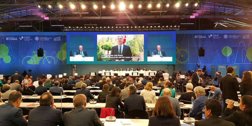 Başkan Akyürek, UCLG Dünya Teşkilatı Eş Başkanlığı'na seçildi