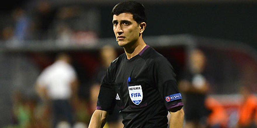 Braga maçına Azeri hakem