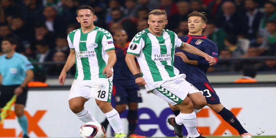 Konyaspor: 1 - Braga: 1  MAÇ SONUCU