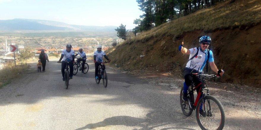 Seydişehir'den Huğlu'ya bisiklet turu