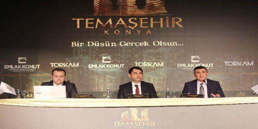 Temaşehir Konya'da yükseliyor