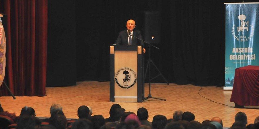 Akşehir'de Nasreddin Hoca konferansı