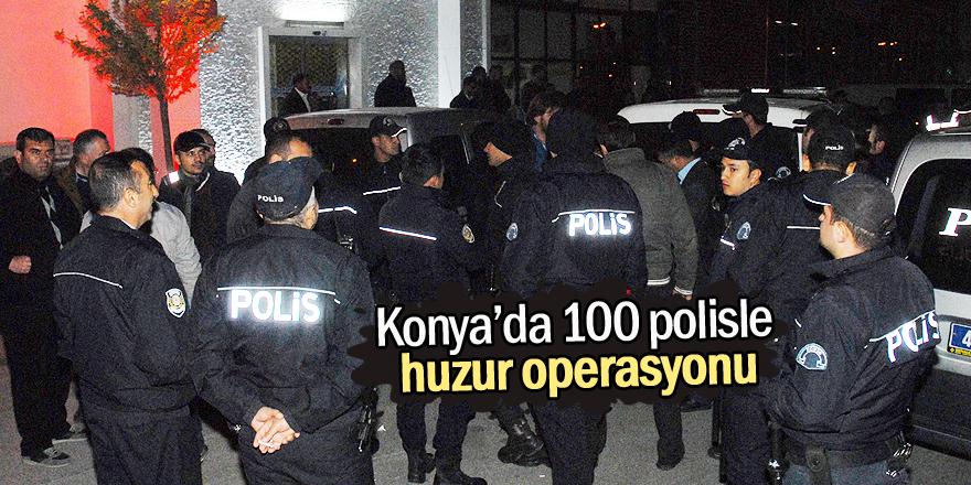 Konya'da eğlence merkezlerine 'huzur' denetimi