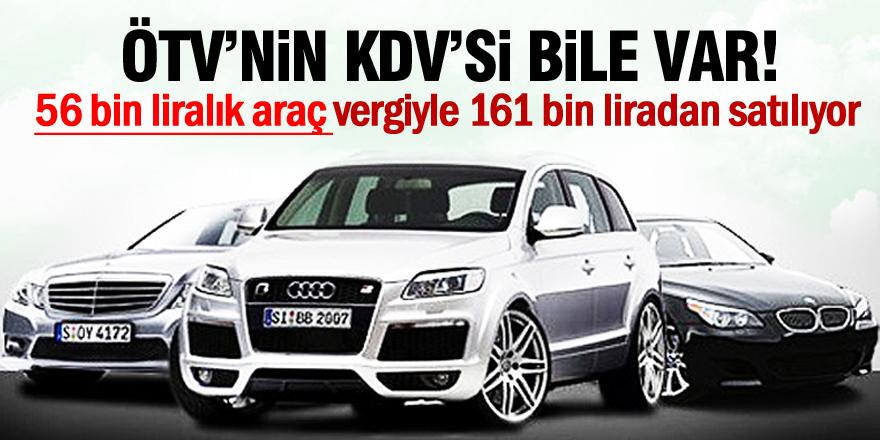 Araçların geliş fiyatına eklenen vergiler