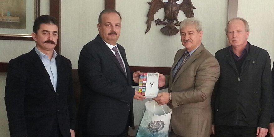 TYB Konya'dan Vali Canbolat'a ziyaret