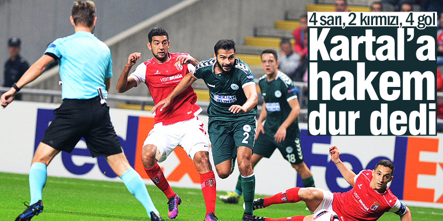 Braga 3-1 Konyaspor